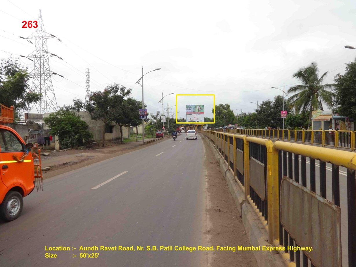 Aundh Ravet Road, Nr. S.B. Patil College Road, Pune