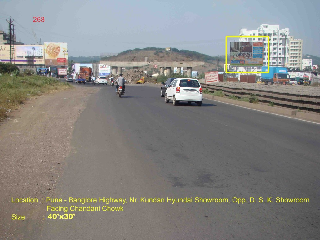 Pune- Banglore Highway, Nr. Kundan Hyundai Showroom, Opp. D.S.K. Showroom, Pune