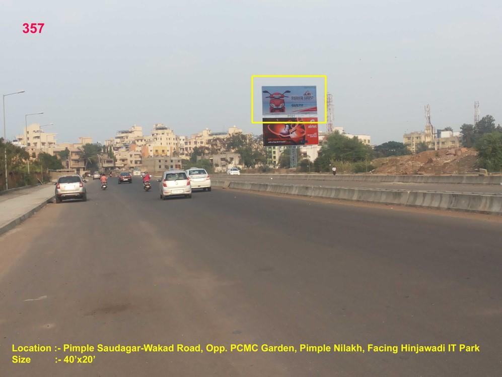 Pimple Saudagar-Wakad Road, Opp. Pcmc Garden, Pimple Nilakh, Pune