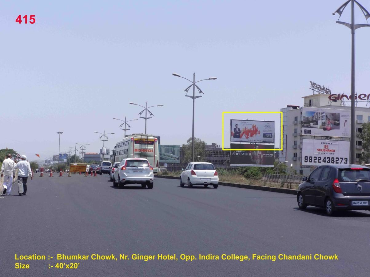Bhumkar Chowk, Nr. Ginger Hotel, Opp. Indira College, Pune