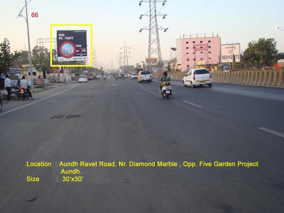 Aundh Ravet Road, Nr. Diamond Marble, Opp. Five Garden Project, Pune