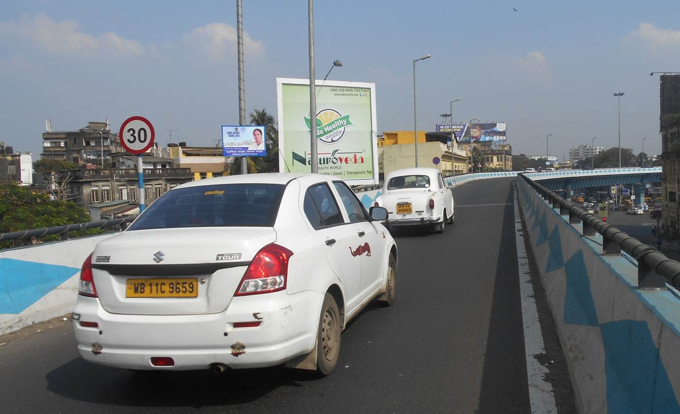 AJC Bose Road Flyover  Maa Flyover Connector, Kolkata
