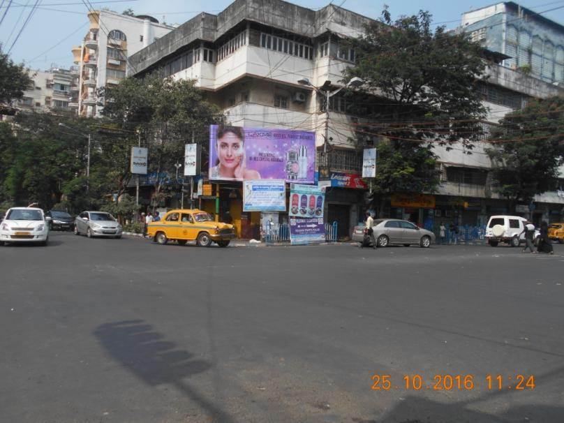 AJC Bose Road  Theatre Road Xing, kolkata