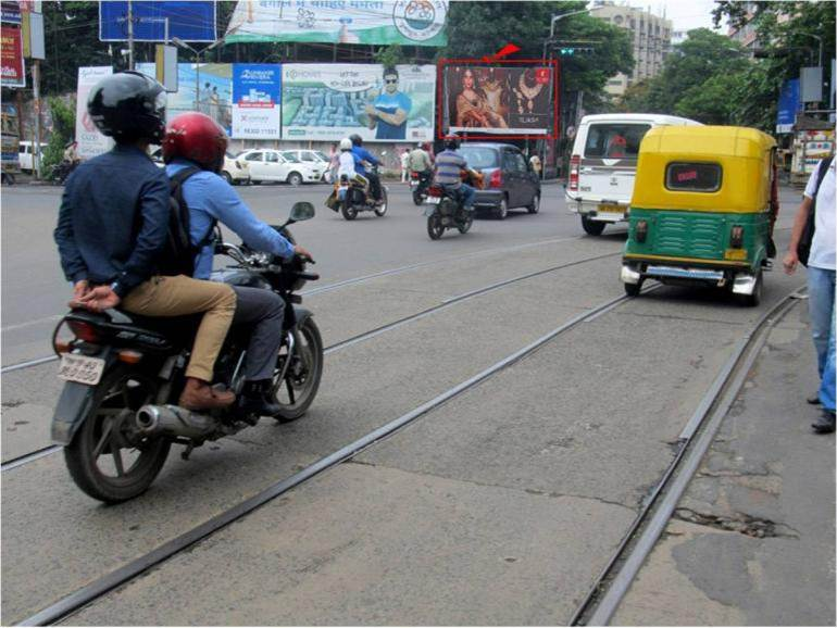 Park Street Mullick Bazar Crossing, Kolkata