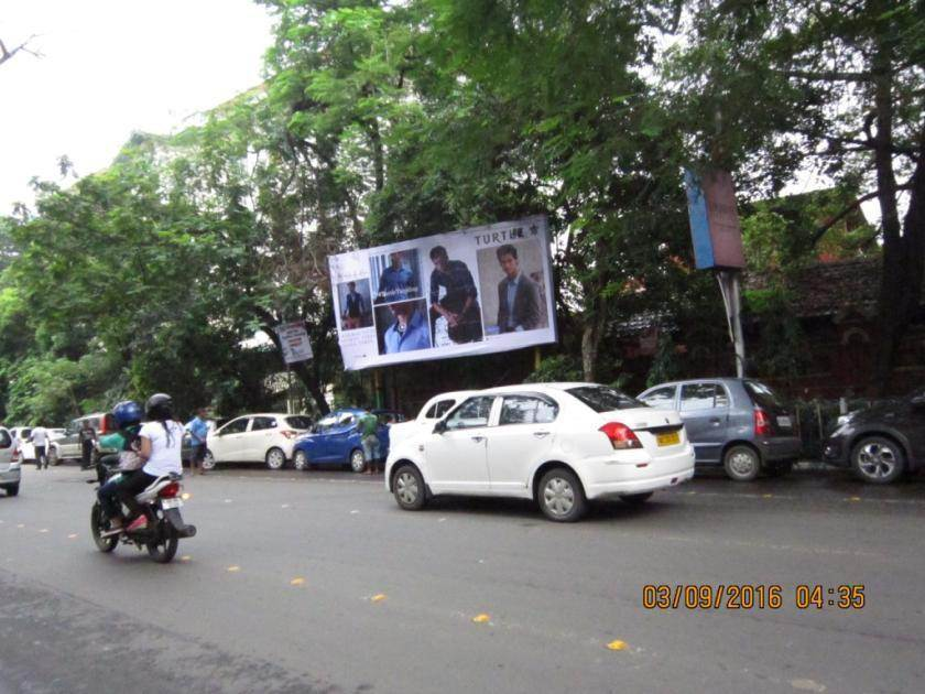 Park Street Wood Crossing near Thana, Kolkata