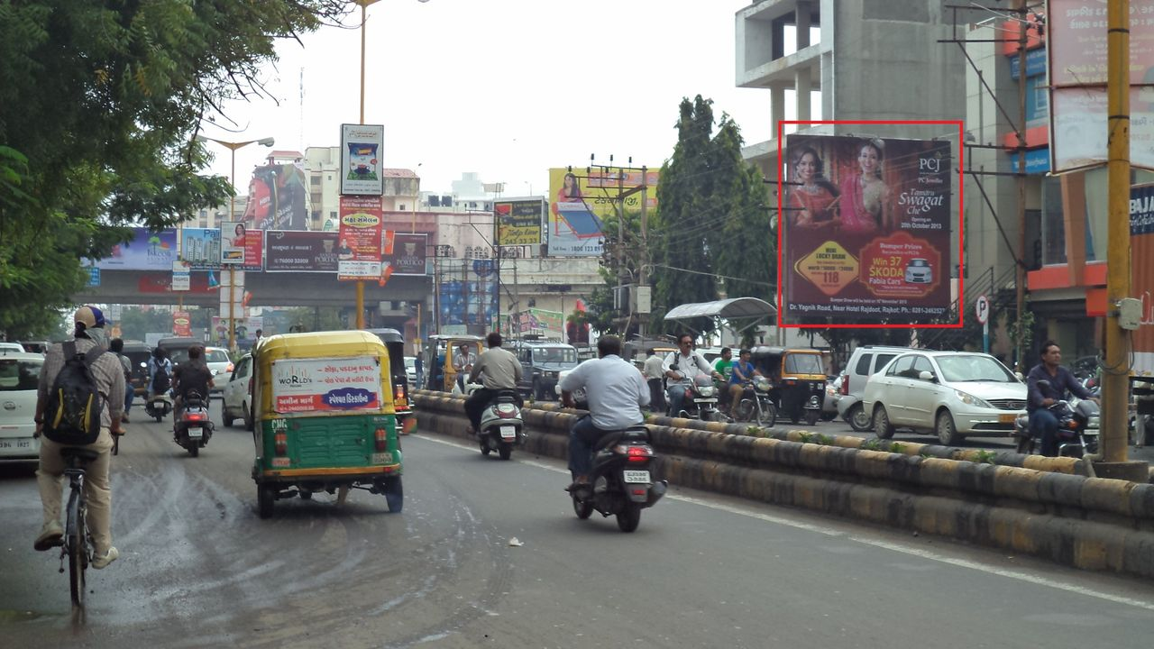 Kalawad Road, K.K.V.Hall Circle, Rajkot