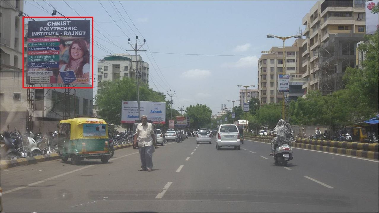 Kalawad Road, Cristal Mall, Rajkot