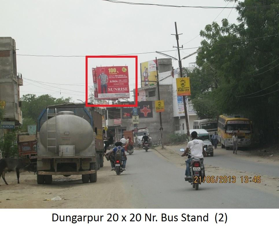 Dungarpur near bus stand, Udiapur