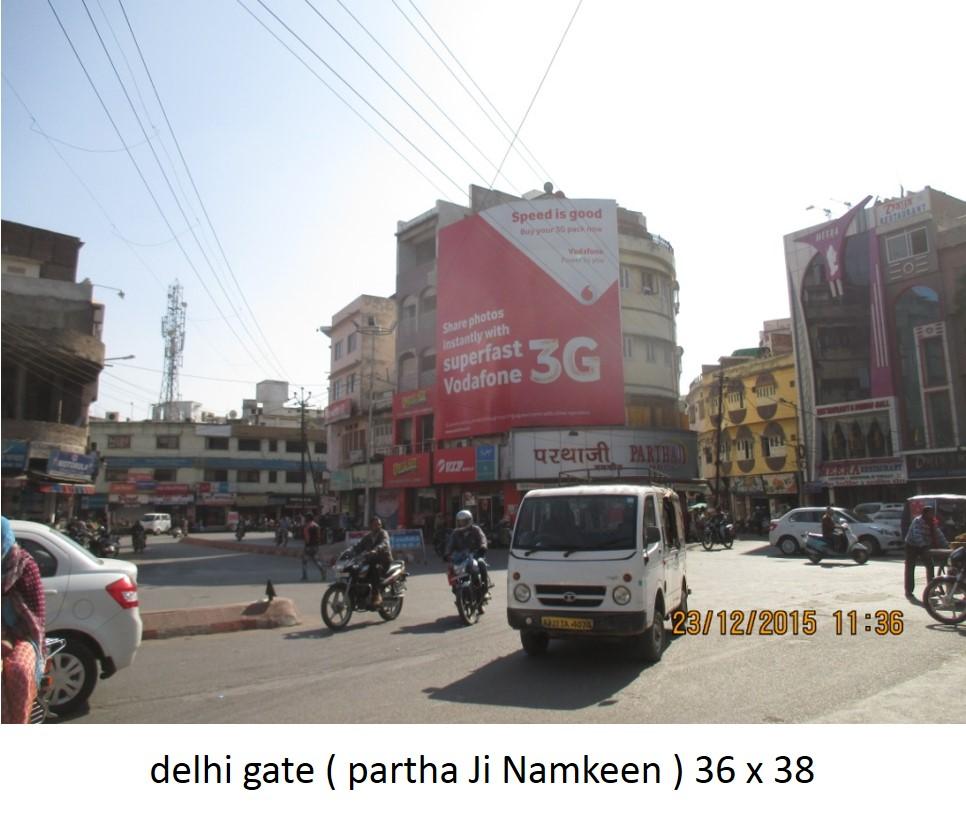 Delhi gate partha ji namkeen, Udiapur