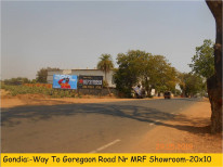 Gondia fcg Gondia Way To Goregaon Near MRF Showroom