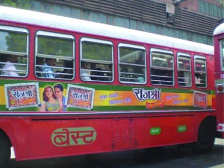 Bus Branding, Jaipur