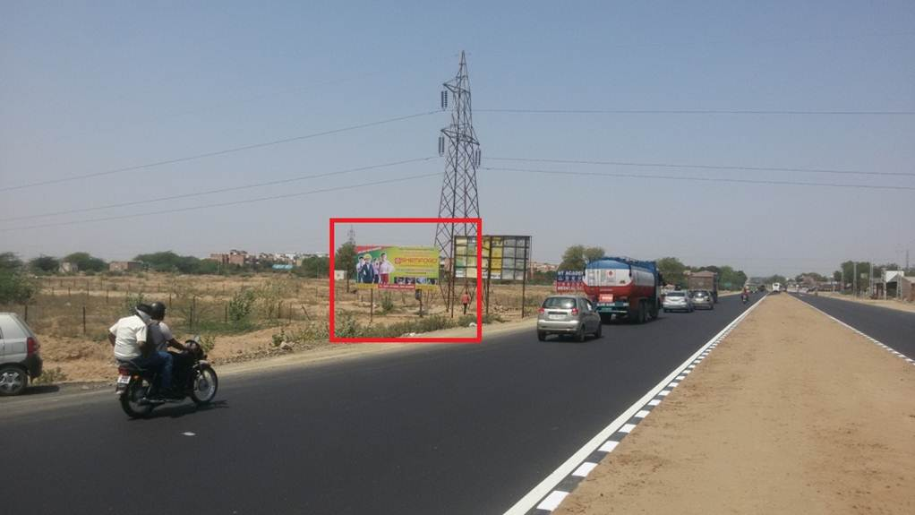 Highway Billboard, Jaipur