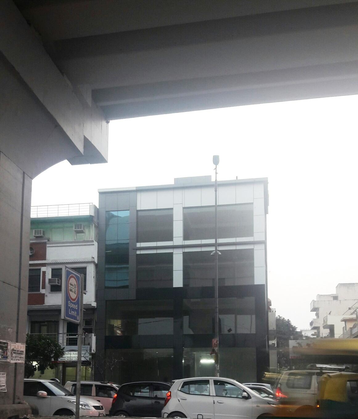Glass building Opp. East Metro Station, Rohini