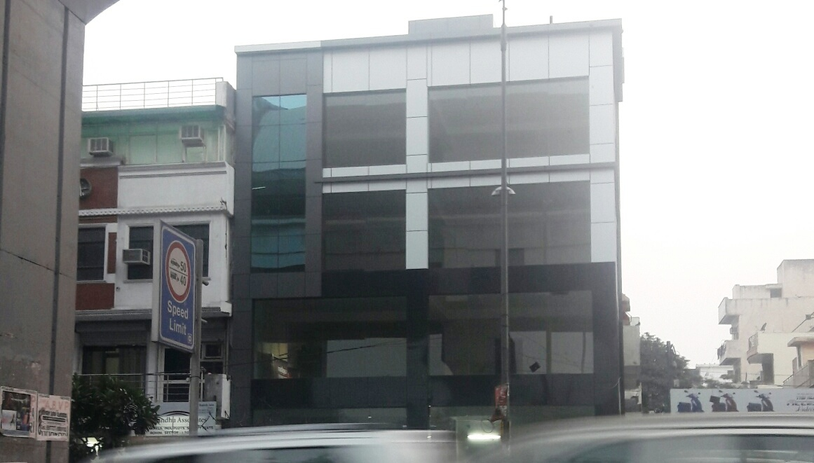 Glass building Opp. East Metro Station, Rohini