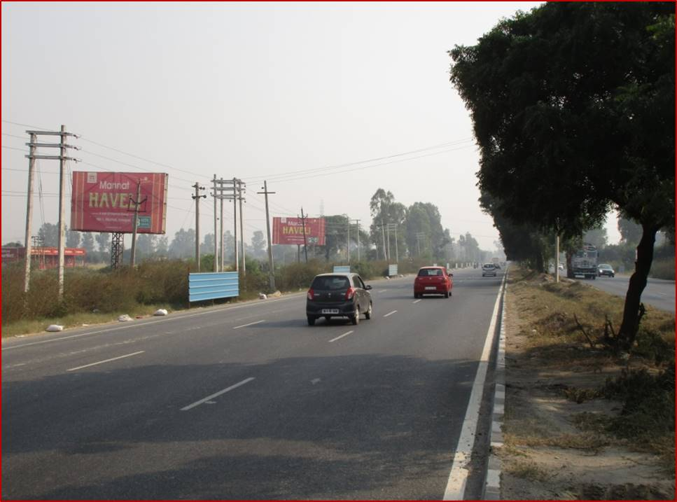Badi industrial Area Near Apolo international School, Delhi to Chandigarh