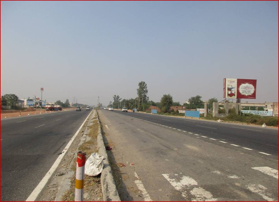 Haldana Boarder, Delhi to Chandigarh
