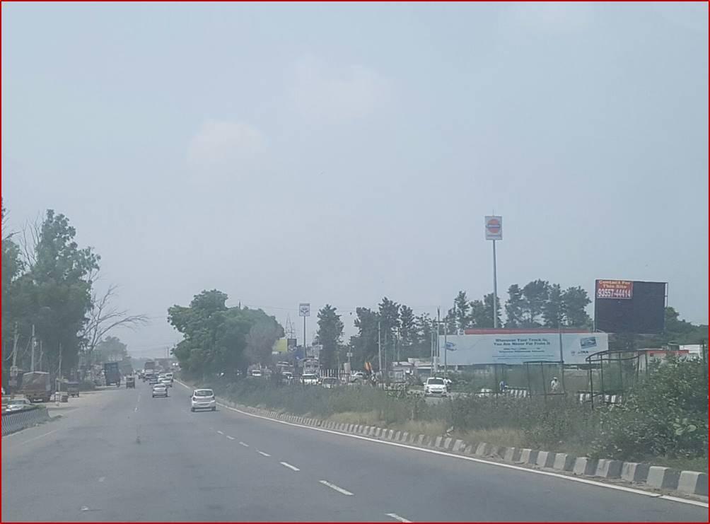 Sewah Flyover, Delhi to Chandigarh