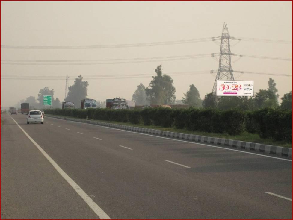 Khanpur Pipli, Delhi to Chandigarh