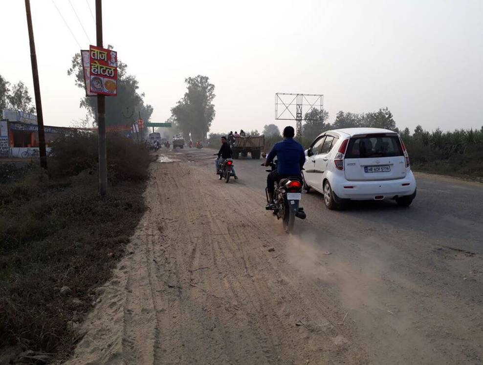 Kairana Shamli Road, Delhi to Chandigarh