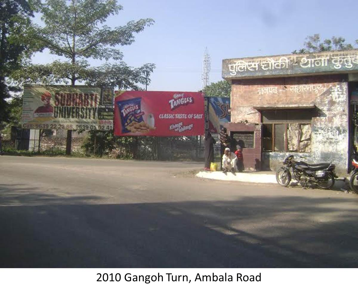Gangoh Turn, Saharanpur