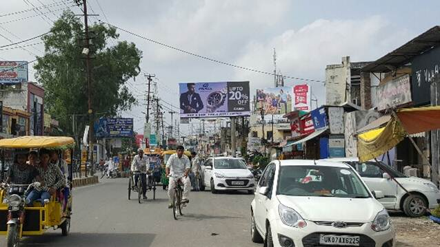 Court road near Rg Place, Saharanpur