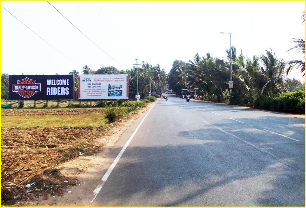 Baga/Calangute Beach Entrance, Goa