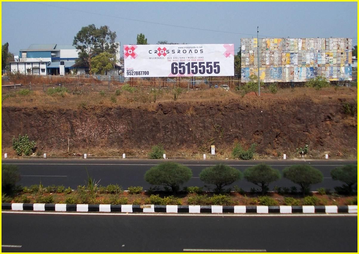Outside Domestic / International Airport, Goa