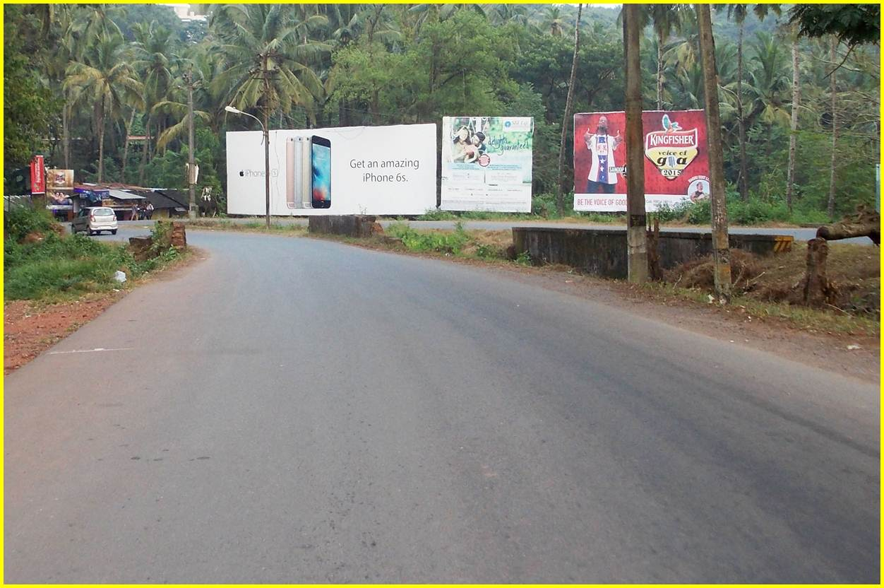 Airport Road to Panjim at Dabolim, Goa