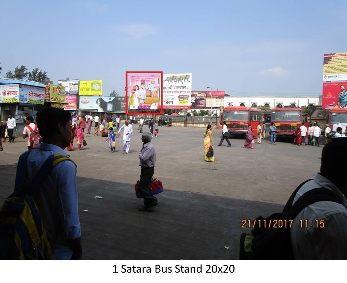 Bus Stand, Satara