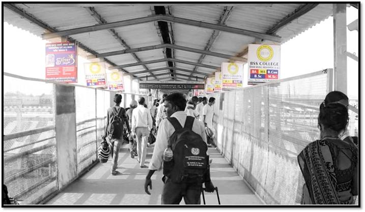 Advertise on Flyover Bridge, Gorakhpur