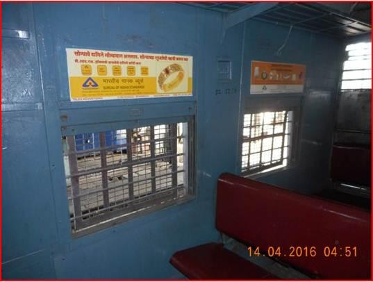 Siemens Train Vinyl Wrapping of 12 coach for Raigad Hospital, Mumbai