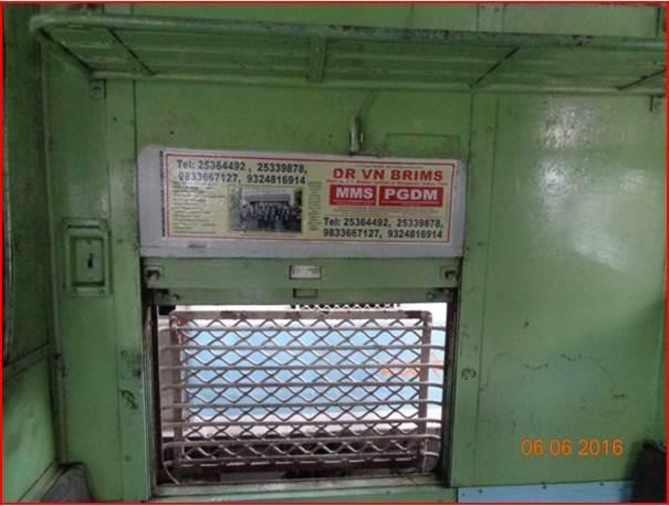 Siemens Train Vinyl Wrapping of 12 coach for Mycro Fine Atta Chakki, Mumbai
