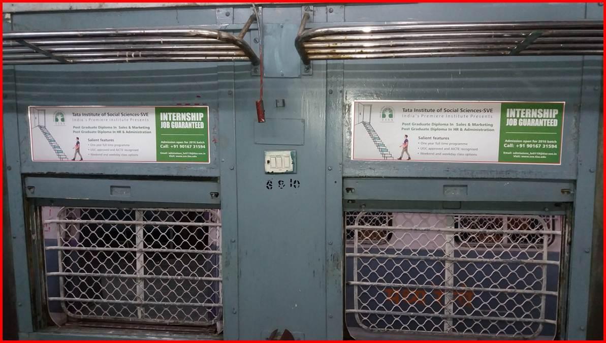 Siemens Train Vinyl Wrapping of 12 coach for COM-IT, Mumbai