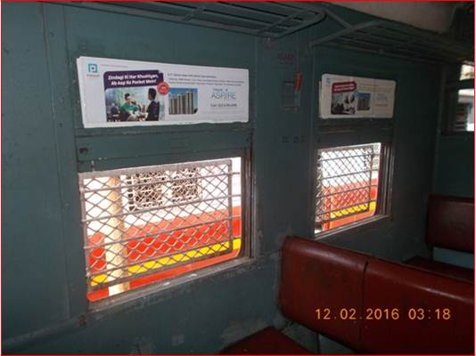 Siemens Train Vinyl Wrapping of 12 coach for Honda Bike, Mumbai