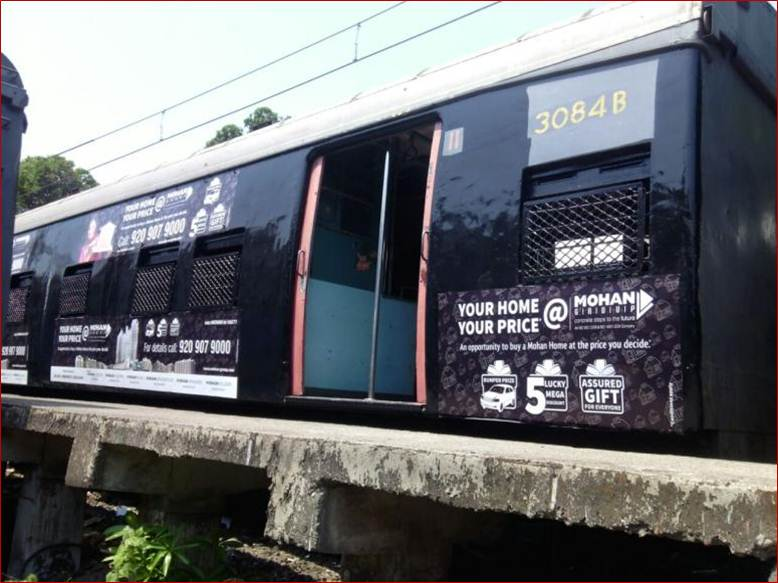 Full Train Painting of Coach for Mohan Group, Mumbai