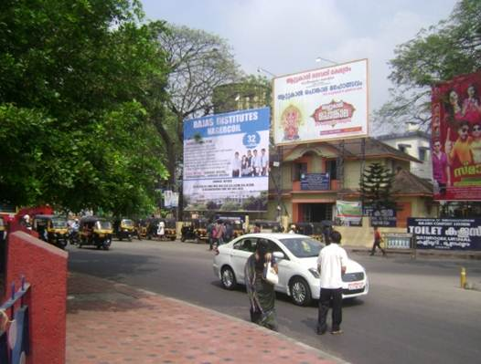 Thampanoor  centeral  KSRTC and Railway station, Trivandrum