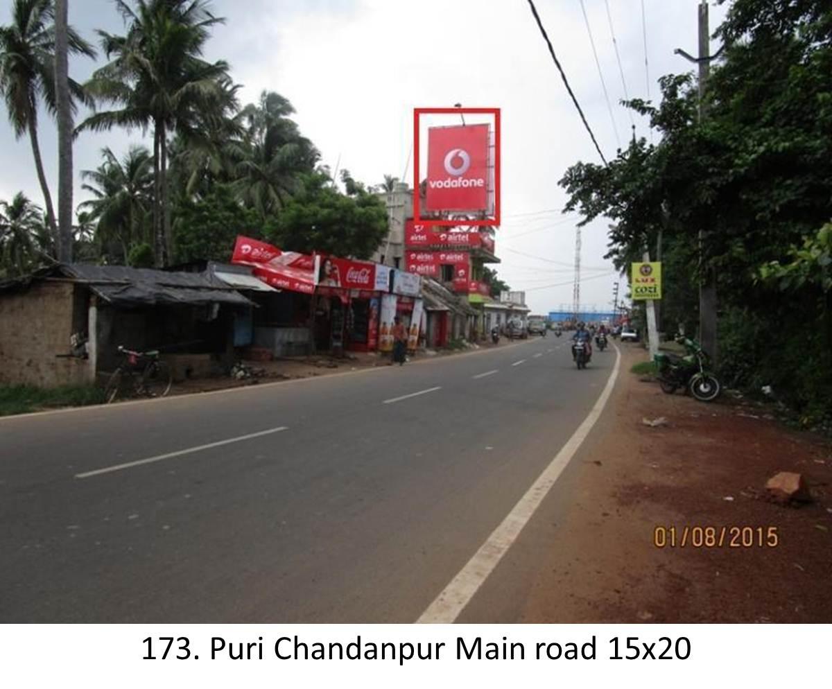 Puri Chandanpur Main road, District Puri,Odisha