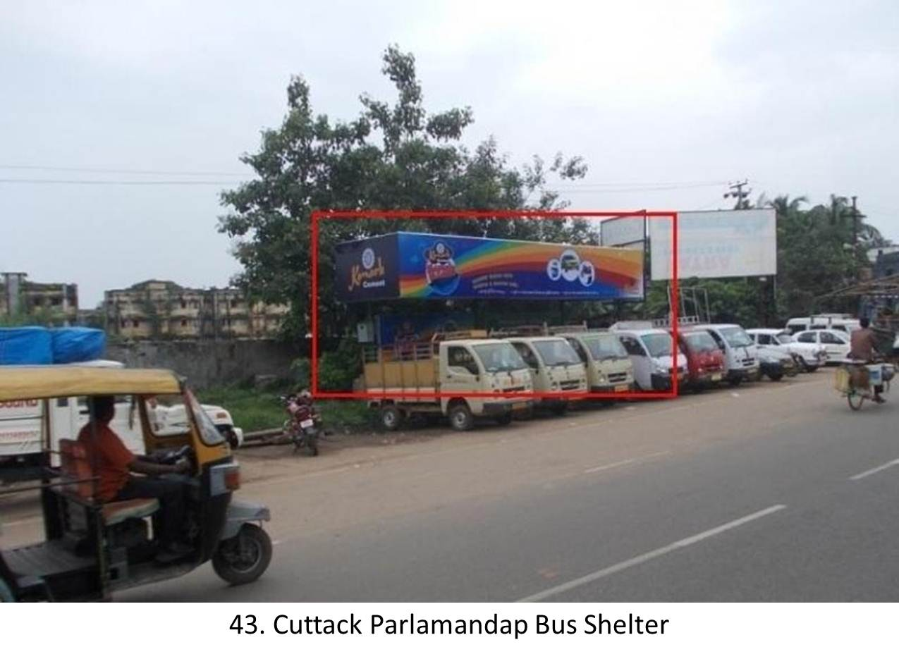 Cuttack Arundev Market Bus Shelter,District Cuttack,Odisha