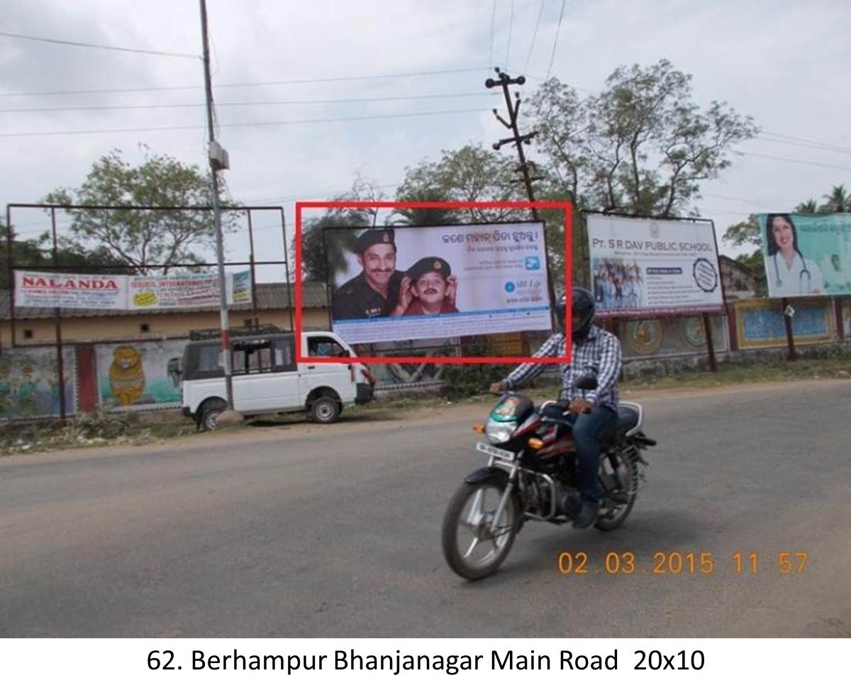 Berhampur Polsara Main Road District Ganjam,Odisha