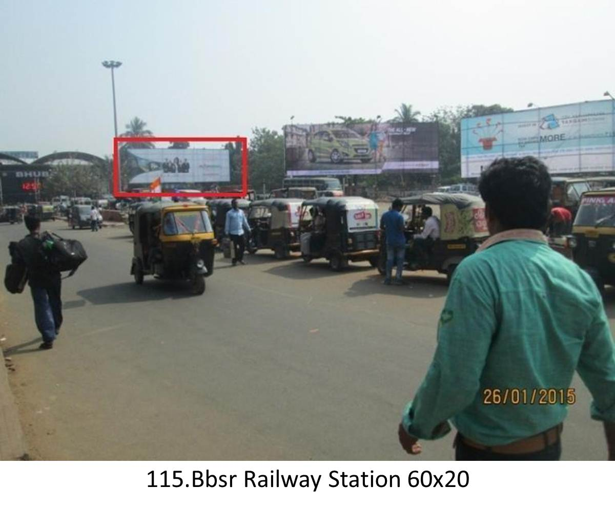 Railway Station,Bhubaneswar,Odisha