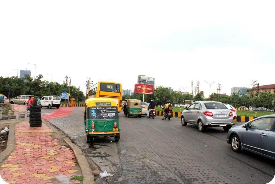 At Sec-125 Round Aboit, Noida