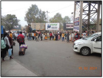 RAILWAY STATION FRONT,  TOWARDS DRM OFFICE
