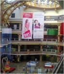 Dangler in Celebration mall both side