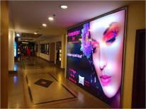 Premium backlight wall PVR lobby