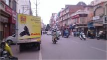 Mobile van hoarding