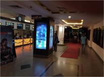 Backlight ad panel PVR cinemas