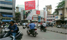 Azad Chowk Circle Upper No Saree Campaign