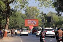 Airport Road Near Camp Hanuman Temple