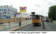 Near Flyover, Facing Bus Station
