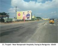 Near Narayanadri Hospitals, Facing to Renigunta